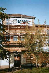 Výstavbu prováděla českobudějovická  firma MANE od června do srpna 2001.