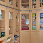 Odborná knihovna ve studovně